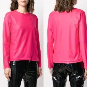 NWT COMME des GARÇONS Junya Watanabe Neon Pink Top